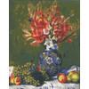 """Канва/ткань с рисунком """"Collection D Art"""" серия 11.000 60 см х 50 см 11860 Натюрморт с виноградом"""