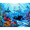 "Канва/ткань с рисунком ""Collection D Art"" серия 11.000 60 см х 50 см 11519 Затонувший фрегат"