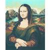 "Канва/ткань с рисунком ""Collection D Art"" серия 11.000 60 см х 50 см 11358 Монализа"