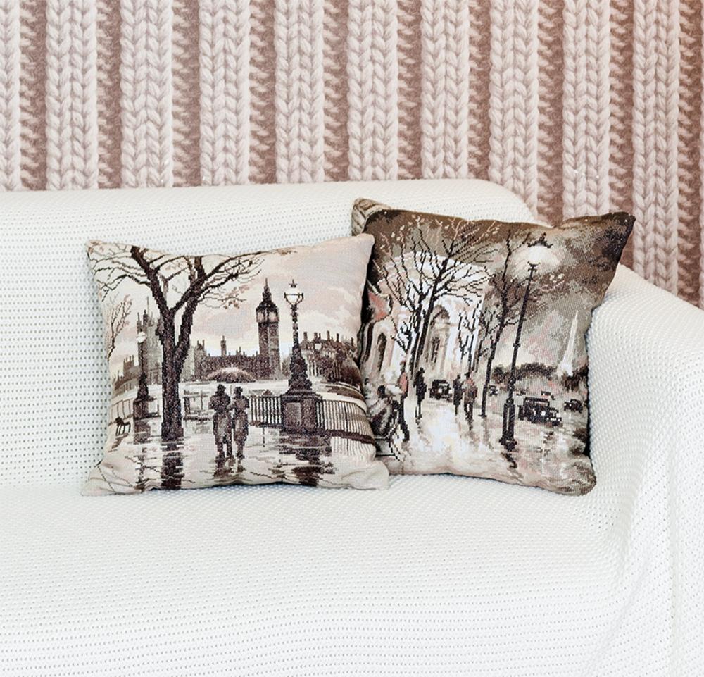 Схема вышивки подушка panna