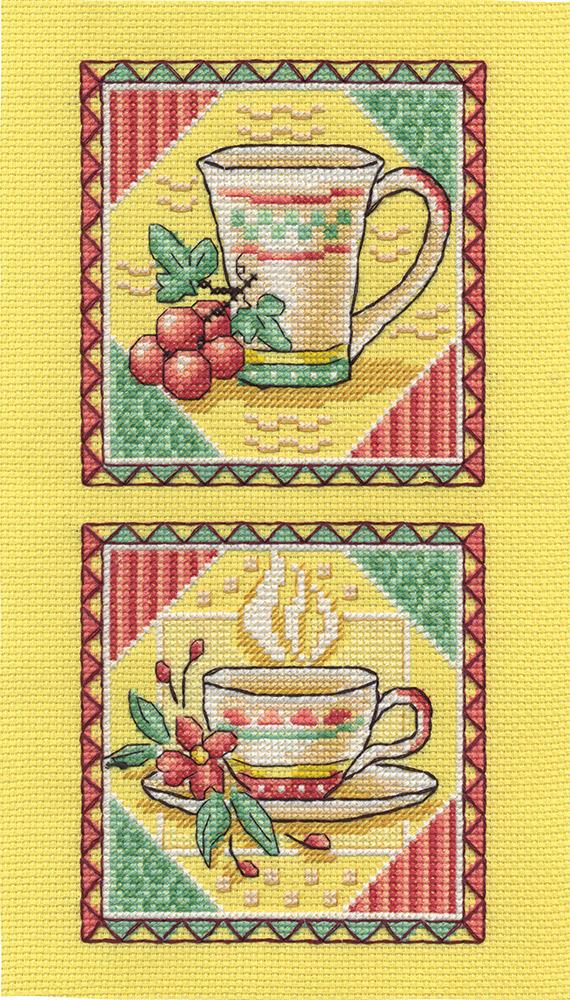 Схема вышивки чаепитие от панна