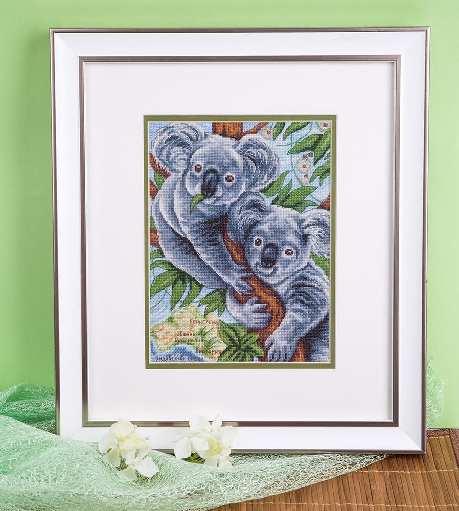 Схема вышивания коала