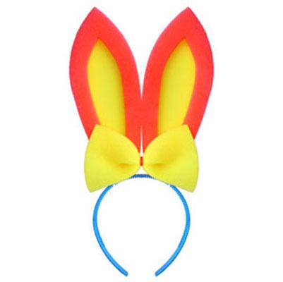 Уши зайца своими руками на голову