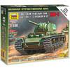 13977648562 6190 Советский тяжёлый танк КВ-1, образца 1941г. с пушкой Ф-32 1/100