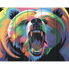 """58318947972 """"Медведь в стиле поп-арт"""""""