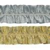 Тесьма отделочная тесьма отделочная рюш 3056 (2899) 40 мм под золото