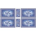 ЛЧ-01 Панель белый/голубой