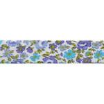№021 сиренево-голубые цветы