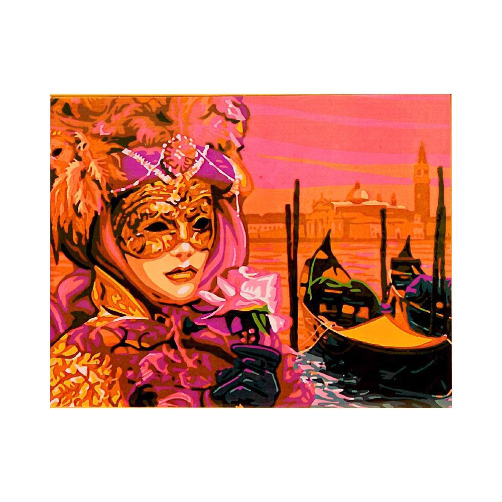 """Color-Kit"" Раскраска по номерам №2 40 x 50 см Маска CG724 ..."