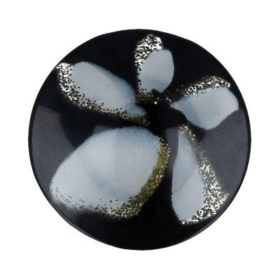 """Пуговицы костюмные на ножке """"Gamma"""" VS 0021 32 """" ( 20 мм) № А008 черный купить за 13,00 руб. в интернет-магазине Леонардо"""