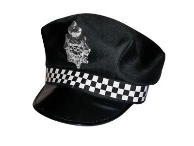 Шапка полицейского из бумаги 45