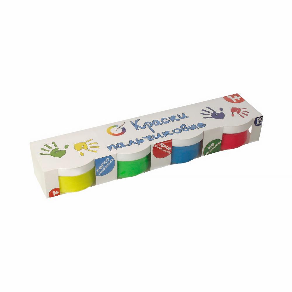 Азбука цвета краски пальчиковые комбинированные миллиметровка рулон купить