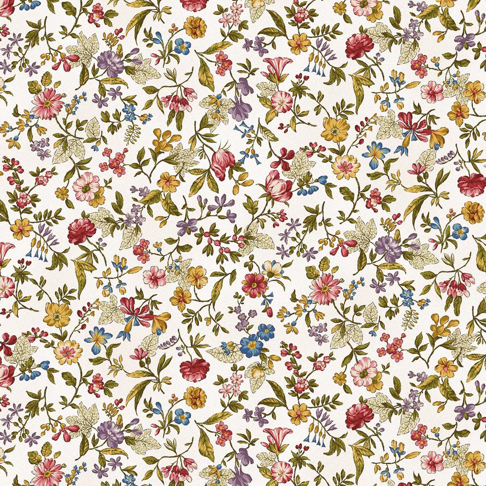 огородами фон в мелкий цветочек может возникнуть