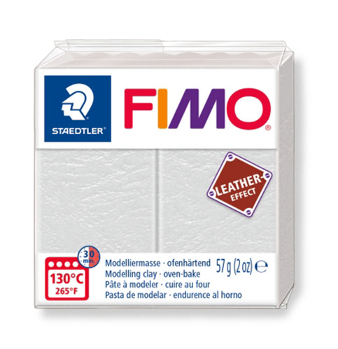 FIMO Leather-Effect полимерная глина 57 г Фото 1.