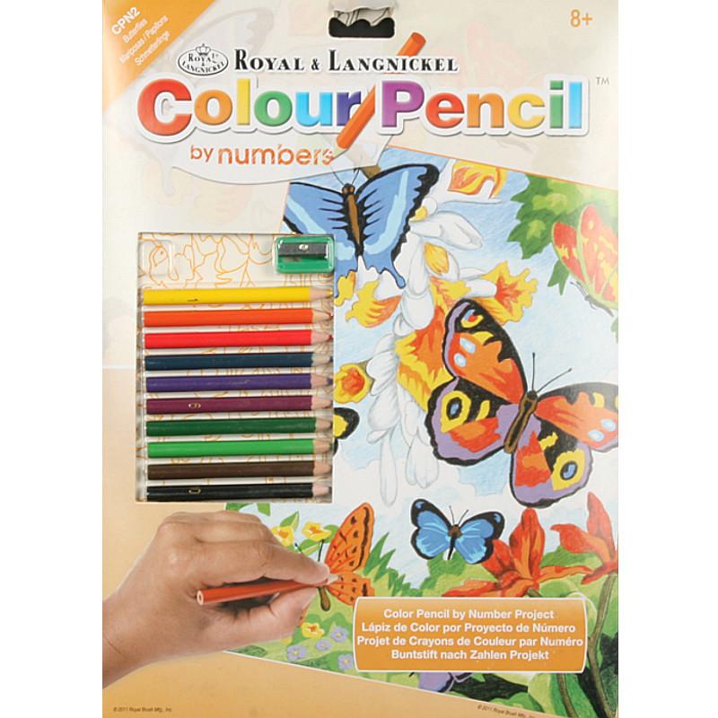"""""""ROYAL LANGNICKEL"""" Раскраска по номерам карандашами купить ..."""