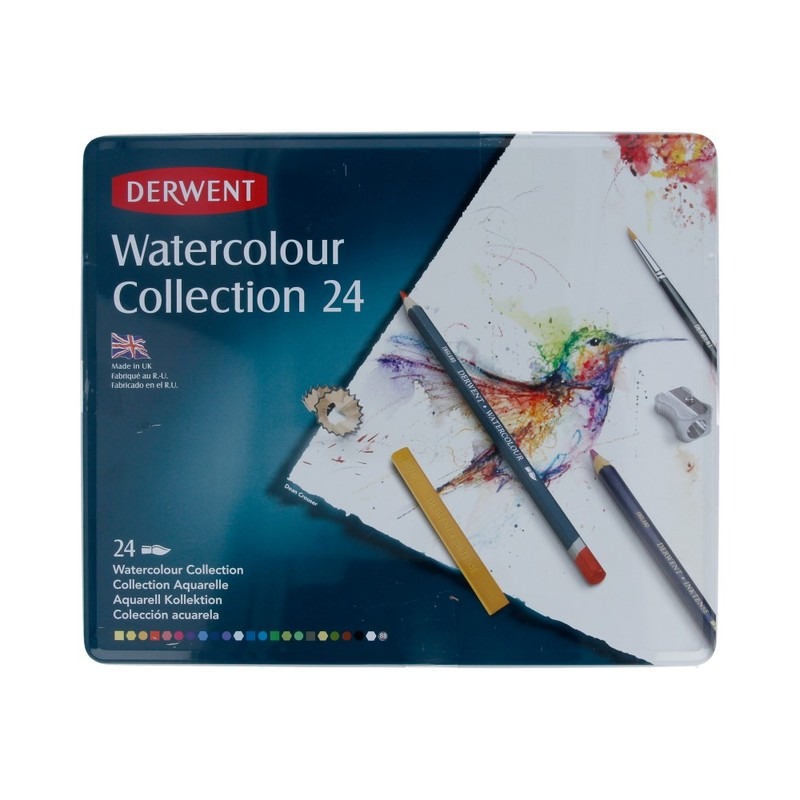 Derwent Набор для акварели Watercolour Collection 24 цв. 0700304 Фото 1.