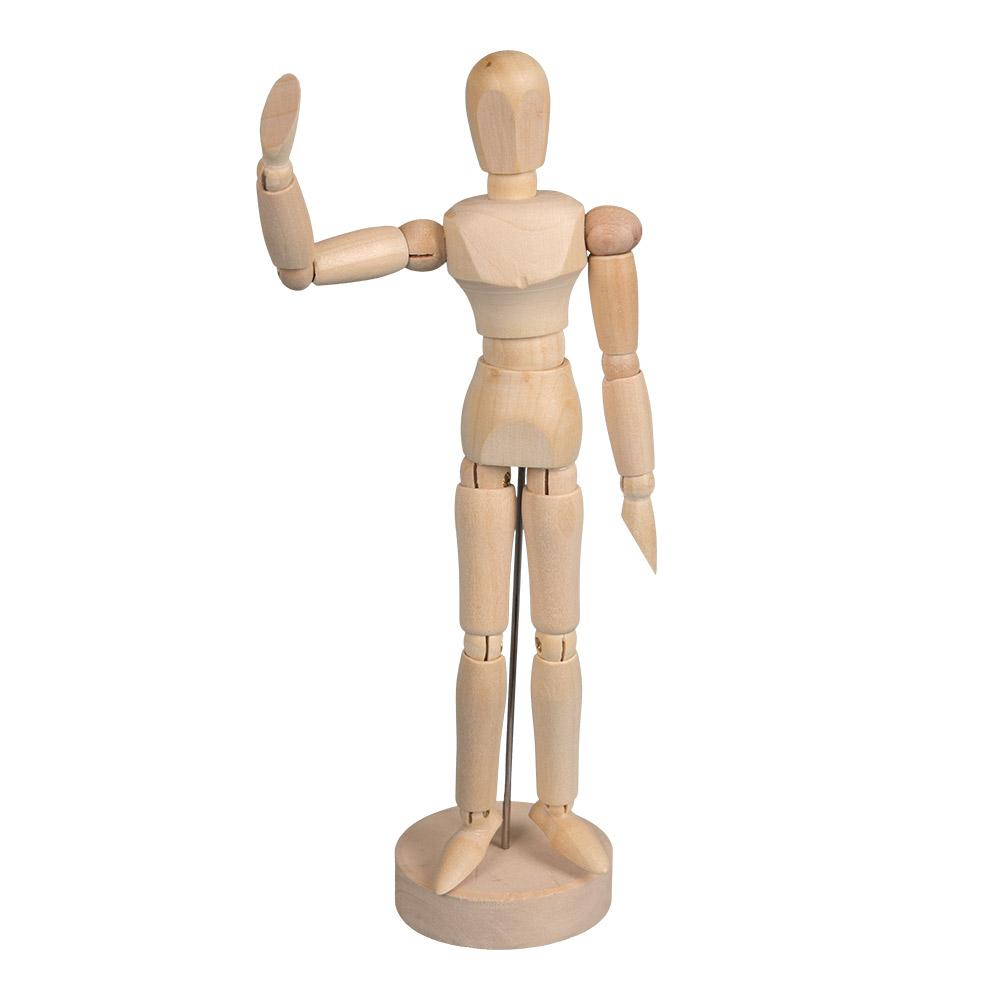 Картинка деревянный человек