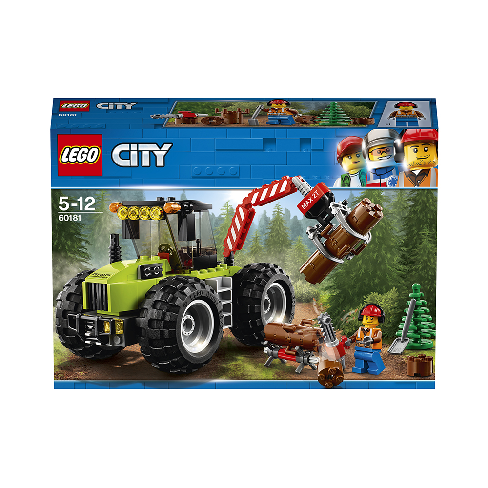 """""""LEGO"""" Конструктор """"CITY"""" Лесной трактор 174 элемент ..."""