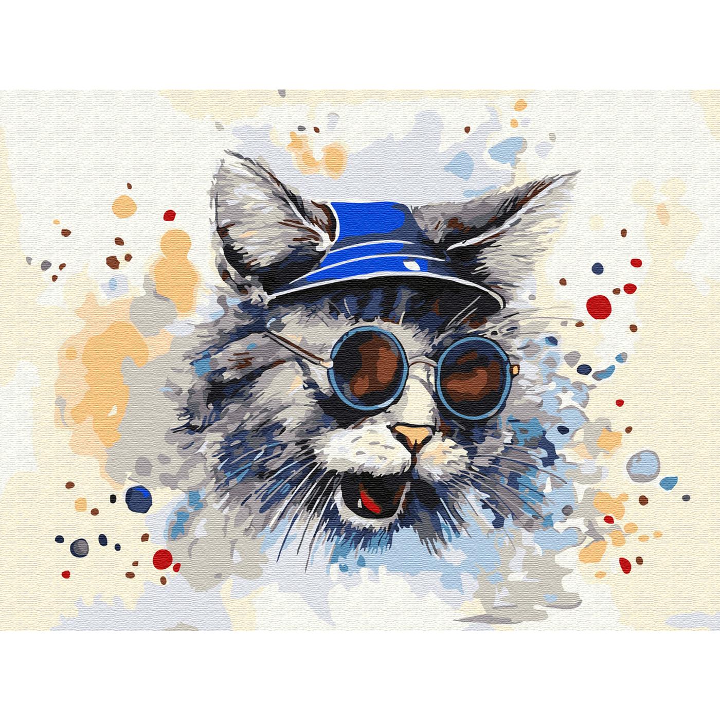 """""""Molly"""" Картина по номерам с цветной схемой на холсте 30 х ..."""