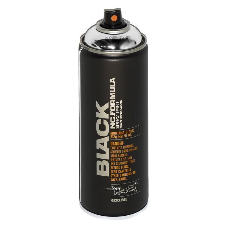"""Montana"" краска Black 400 мл хром Silverchrome BLK ... - photo#44"