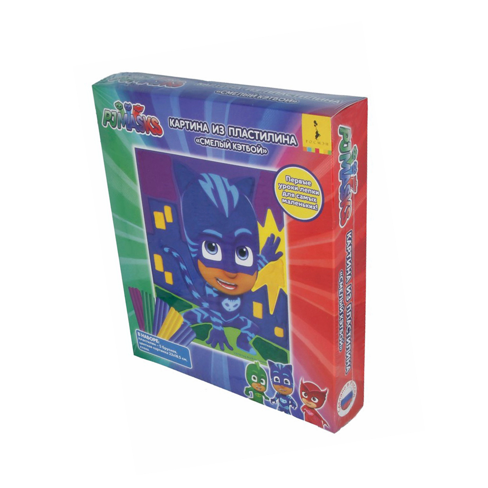 """PJ Masks"" Картина из пластилина № 1 купить за 139,00 ₽ в ..."