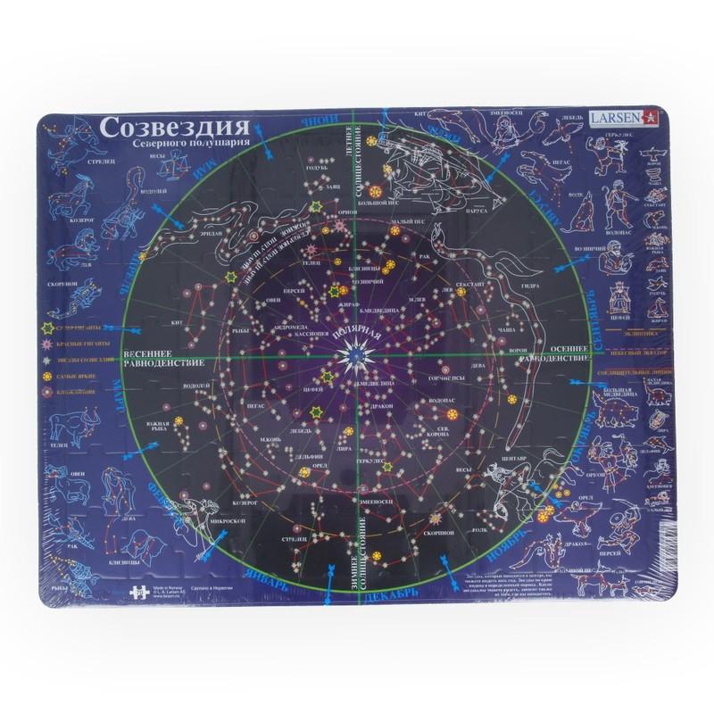 Карта созвездий северного полушария фото