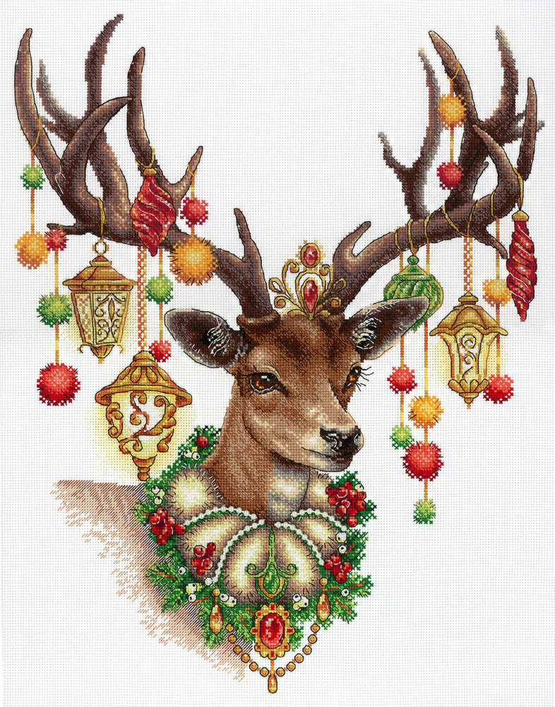 клаус рождественские картинки новогоднего оленя одной стороны