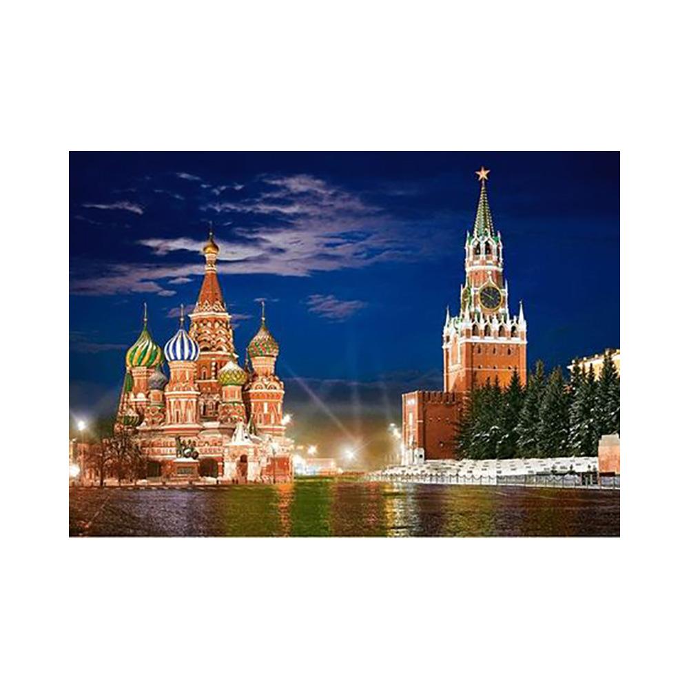 Пазл москва красная площадь купить узор на ткань